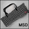 MSD Size - BJD Cloud Carrage Bag (Black)