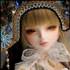 Judith Girl Doll - Arasa Blue ; Zinna - LE10