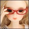 MSD - Dollmore Lensless Sunglasses II (Red)