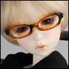 MSD - Dollmore Lensless Sunglasses II (Brown)