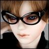 SD - Dollmore Lensless Sunglasses I (Black)
