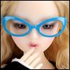 SD - Dollmore Lensless Sunglasses I (Sky)