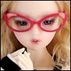 SD - Dollmore Lensless Sunglasses I (D.Pink)