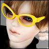 SD - Dollmore Lensless Sunglasses I (Yellow)