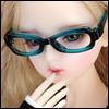 SD - Dollmore Lensless Sunglasses II (Blue)