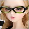 SD - Dollmore Lensless Sunglasses II (Green)