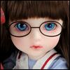 Mokashura Size - Round Steel Lensless Frames Glasses (Black)