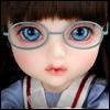 Mokashura Size - Round Steel Lensless Frames Glasses (Mint)