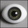 12mm Classic Flat Back Oval Glass Eyes (CC03)