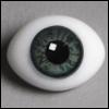 12mm Classic Flat Back Oval Glass Eyes (CC04)
