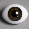12mm Classic Flat Back Oval Glass Eyes (CC10)