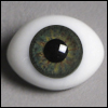 14mm Classic Flat Back Oval Glass Eyes (HM03)
