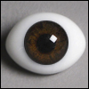 14mm Classic Flat Back Oval Glass Eyes (HM10)