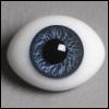 12mm Classic Flat Back Oval Glass Eyes (CS01)