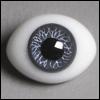 12mm Classic Flat Back Oval Glass Eyes (CS06)