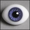 12mm Classic Flat Back Oval Glass Eyes (CS07)
