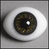 12mm Classic Flat Back Oval Glass Eyes (CS10)