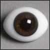 12mm Classic Flat Back Oval Glass Eyes (CD10)
