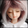 (7-8) Mohair Free Style Wig (Mix.Wine)