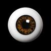 26mm - OMeta Half Round Acrylic Eyes (FC-09)