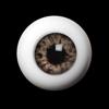 26mm - OMeta Half Round Acrylic Eyes (FC-05)