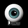 28mm Glass Eye (Green Gray) - A