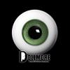 28mm Glass Eye (Green) - A