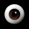 Meister Glass Eyes 18mm (Brown(B)