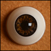 16mm - Optical Half Round Acrylic Eyes (CC06)