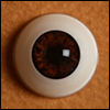 16mm - Optical Half Round Acrylic Eyes (CC10)