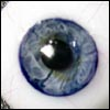16mm Glass Blood eye (Blue)