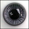 16mm Paperweight Glass HH Eyes(Grey)
