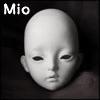 Dollmore Eve Doll Head - Mio (White Skin)