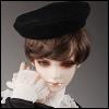 (8-9) Beret Hat (베레모 : Black)