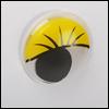 Eyelash Moving Eyes (움직이는 안구/Yellow)