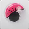 Eyelash Moving Eyes (움직이는 안구/Pink)