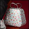 Free - Iron Fashion Handbag (F White )