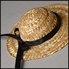 (5-7) Simple Country Hat (Natural)