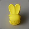 Mini Rabbit Pin (Yellow)