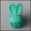 Mini Rabbit Pin (Green)