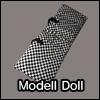 Model Doll Size - BJD Cloud Carrage Bag (Black)