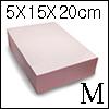 15cm X 20 cm X 5cm 아이소핑크 (Isopink/Middle)
