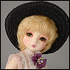 (6-7) Goa Country Hat (Blackl)