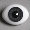14mm Classic Flat Back Oval Glass Eyes (CC06)