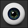 16mm - Optical Half Round Acrylic Eyes (CB-02) - PA