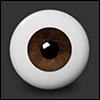 16mm - Half-Round Acrylic Eyes (SD-16) - PA