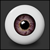 18mm - Half-Round Acrylic Eyes (WE-07) - PA
