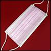 덴탈 마스크 (3중필터 일회용/Pink)