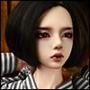 (8-9) Ellen Wig (Black)
