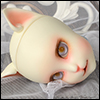 Catish Girl Doll Reaa Make-up Head  - Klasse Cancan - LE3 (White)
